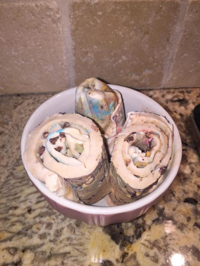 Cooking Corner: Testing Rolled Ice Cream