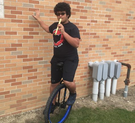 What Is It Like to Unicycle to School?